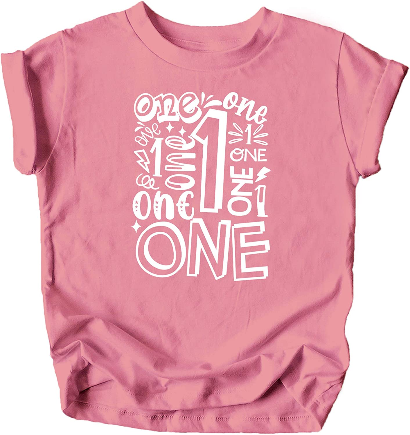 Olive Loves Apple Charming 1st Birthday Terms T-Shirts and Raglans for Baby Girls and Boys First Birthday Outfit