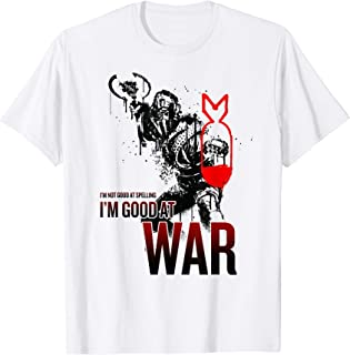 Netflix Daybreak I'm Not Good At Spelling I'm Good At War T-Shirt