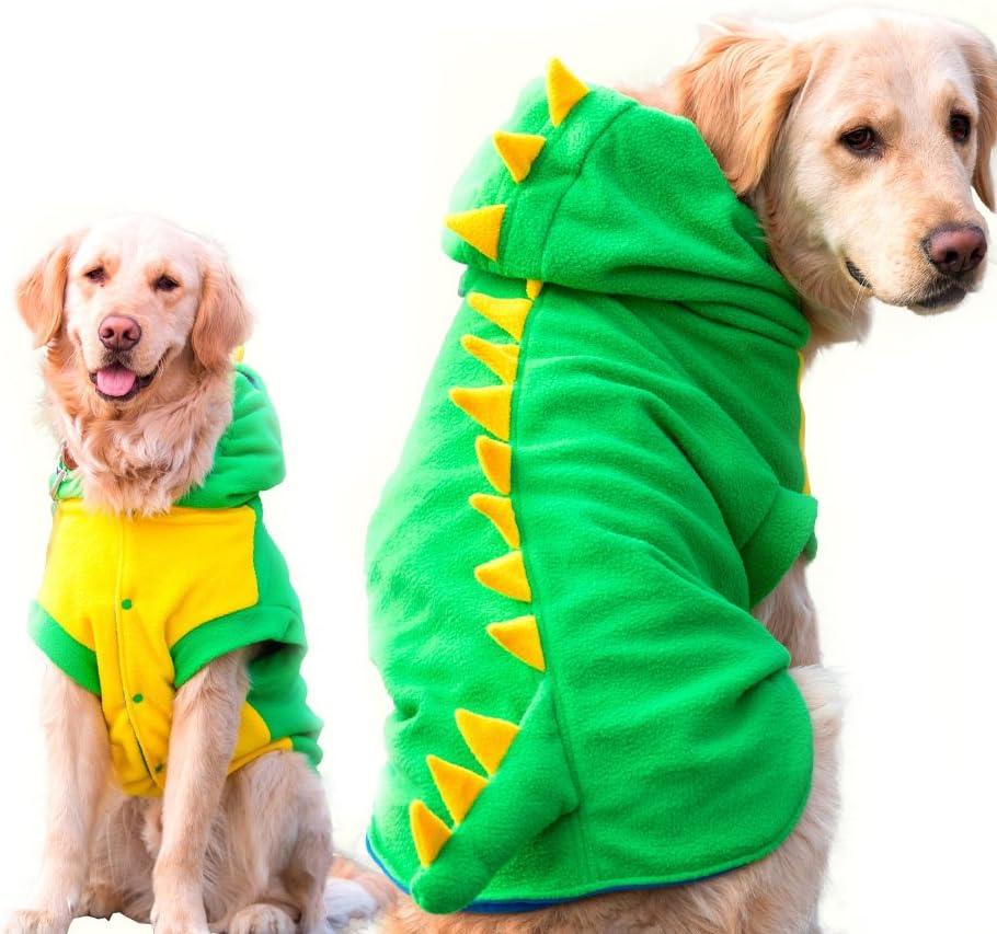 FLAdorepet Funny Halloween Big Large Costume Dinosaur gift Dog Max 87% OFF Jacket