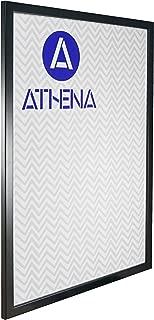 Athena Thin Black Ash Picture Frame, A2 Size, 59.4 x 42 cm,
