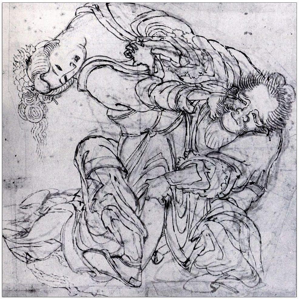 ArtPlaza Hokusai Katsushika - Suikoden San Francisco Mall 1 Decorative 2021 new Panel scene