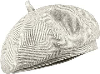 Elonglin Women Berets Classic Artist Hats Autumn-Winter Beanie Cap Wool French Berets British Style Fashion Vintage Elegant