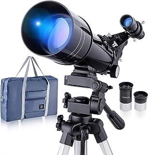 Telescopio astronómico profesional refractivo BNISE, alta ampliación HD, doble uso, adecuado para adultos o niños principi...