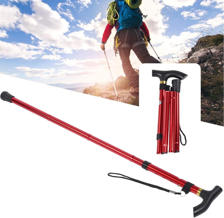 Jopwkuin Lightweiht Aluminum Alloy Sturdy High order Sale SALE% OFF Poles Trekking Outdoor