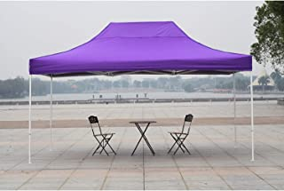 AMERICAN PHOENIX Canopy Tent 10x15 Easy Pop Up Instant Portable Event Commercial Fair Shelter Wedding Party Tent (Purple, 10x15)