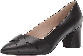 Cole Haan Women's Carlee Pump (55MM), Black Leather, 7.5 B US