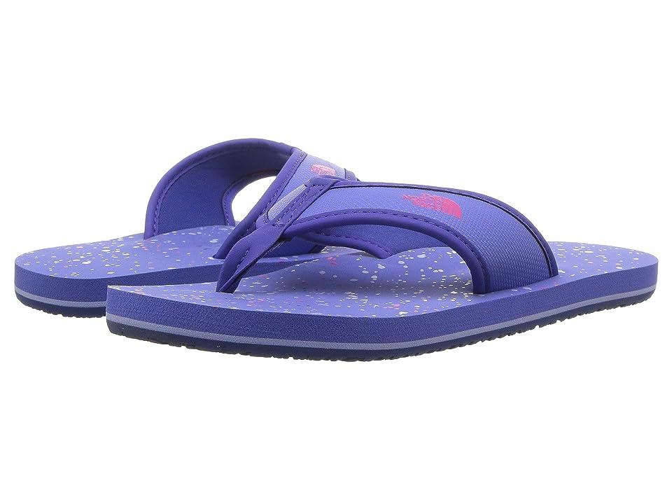 The North Face Kids Base Camp Flip-Flop (Toddler/Little Kid/Big Kid) (Stellar Blue/Cabaret Pink (Prior Season)) Girls Shoes