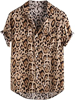 Amazon.es: Blusas De Leopardo - Hombre: Ropa