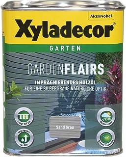 Xyladecor Garden Flairs 2,5L sand grau Holzöl Imprägnierung Metalleffektöl