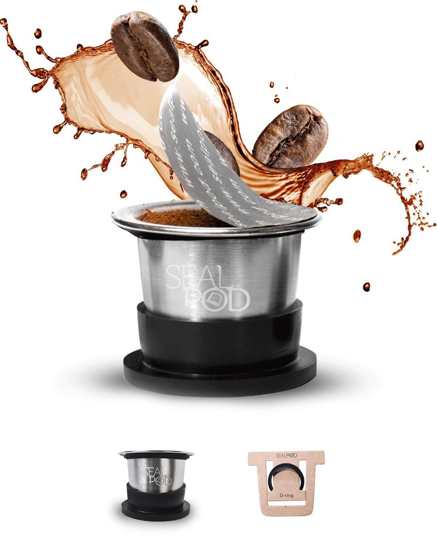 SEAL POD Reusable Nespresso Capsules