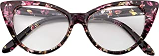 OWL Cateye Sunglasses for Women Classic Vintage High...