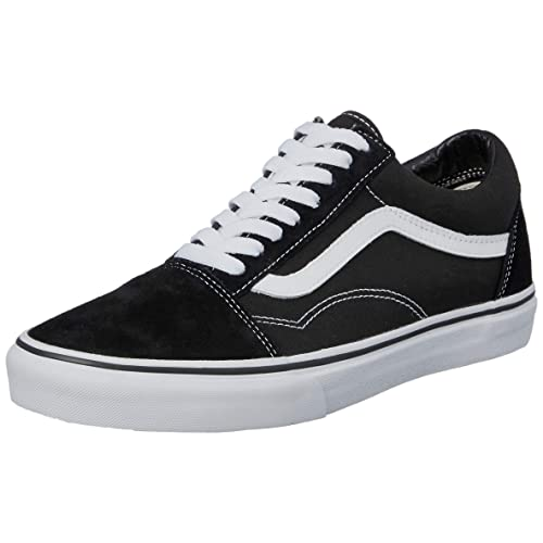 9cbba1c8d77d Vans Unisex Adults  Old Skool Classic Suede Canvas Sneakers