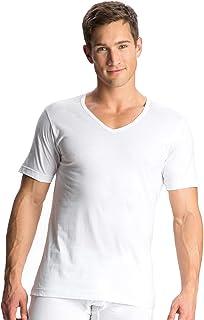 Jockey Men's Sleeved V-Neck Undershirt