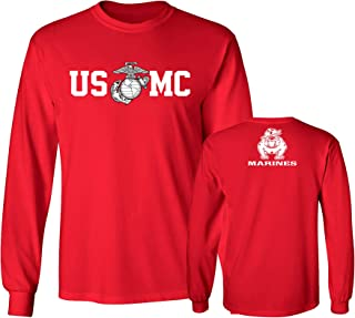red marine corps uniform