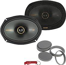 $140 » Kicker 47KSC6904 KS Series Speakers and Fast Rings Better Audio Bundle. Car Audio 6 by 9 Coaxial Speakers Pair, 150 Watts ...