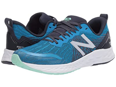 New Balance Kids Fresh Foam Tempo (Big Kid) (Vision Blue/Thunder) Boys Shoes