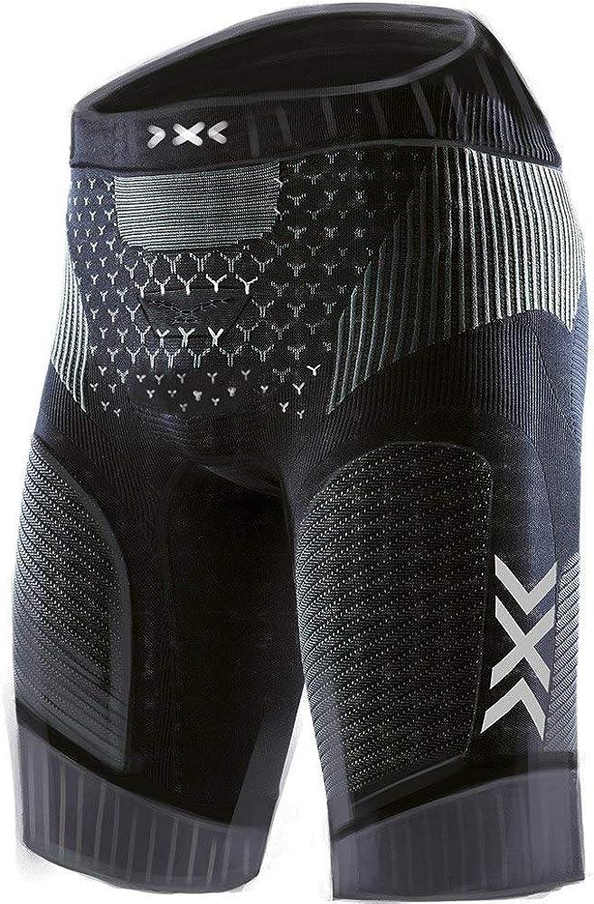 X-bionic twyce 4.0, pantaloncini da ciclismo per uomo, 88% poliammide, 6% elastan, 6% polipropilene TW-R500S19M