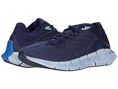 Reebok Zig Kinetica (Vector Navy/Vector Navy/Vector Blue) Athletic Shoes