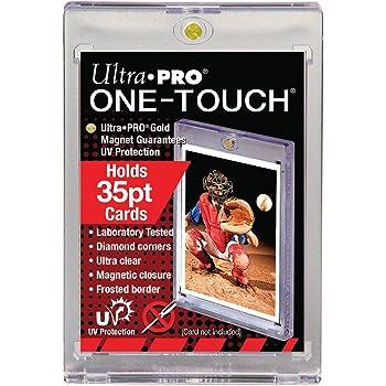 10 Ultra Pro 35pt Magnetic Card Holder Cases - Holds Regular Baseball, Football, Hockey Cards