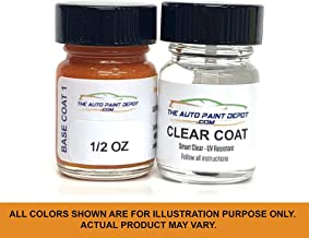 Auto Paint Depot Touch Up Paint for Toyota 86-Oceanic Pearl K3X (All Years, All Models) Half Ounce with Clear Coat
