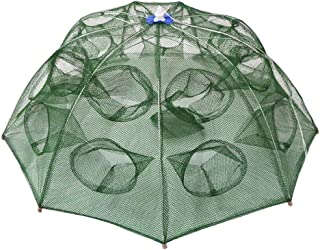 Goture Trap Net Portable Fishing Net Fish Shrimp Crab Baits Cast landing Folding Dip Cage