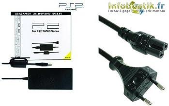 Cargador de fuente de alimentación para consola PS2 SLIM - SCPH 70000