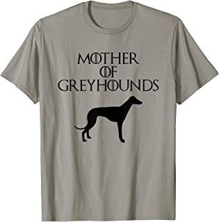 Cute & Unique Black Mother of Greyhounds T-shirt E010660