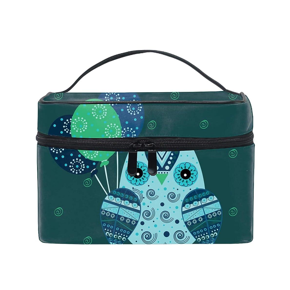 従来の是正する疑いレディースCute Owl 小物入れケース 化粧ポーチ 小物用収納ポーチ 化粧品収納袋