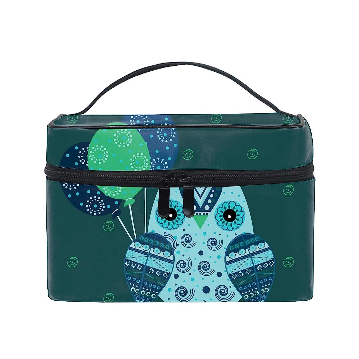 修正する農学男らしさレディースCute Owl 小物入れケース 化粧ポーチ 小物用収納ポーチ 化粧品収納袋
