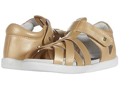 Bobux Kids I-Walk Tropicana (Toddler) (Gold 1) Girls Shoes