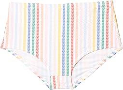 Seamless High-Waisted Bikini Bottoms