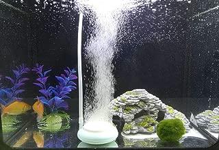 Hygger Aquarium Air Stone Disc Micro Fine Bubbles Oxygen for Fish Tank Aquarium Air Diffuser Fish Bubbler