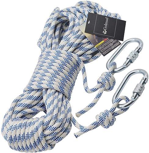 YONG FEI La Corde- Corde de sécurité extérieure en Nylon Corde d'escalade Corde de Sauvetage Corde Sauvetage Sauvetage Corde Porter des Fournitures de Survie de Corde 8mm        (Taille   10m)