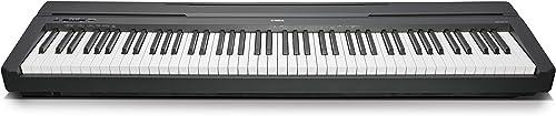 Yamaha P-45 piano numérique avec 88 touches – Compact et transportable – Idéal pour les débutants – Noir