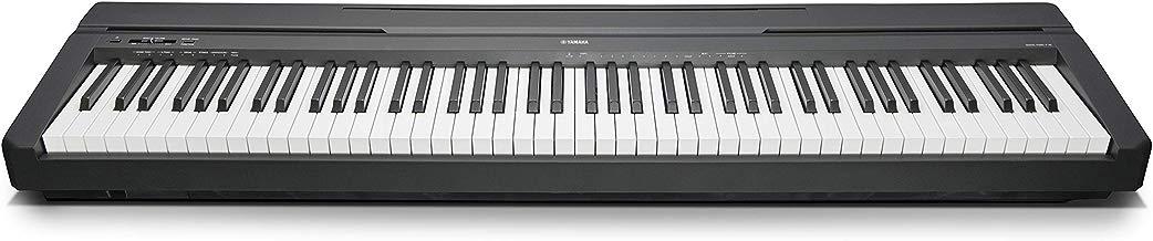 Yamaha P-45B - Piano digital (88 teclas, 64 notas), color negro