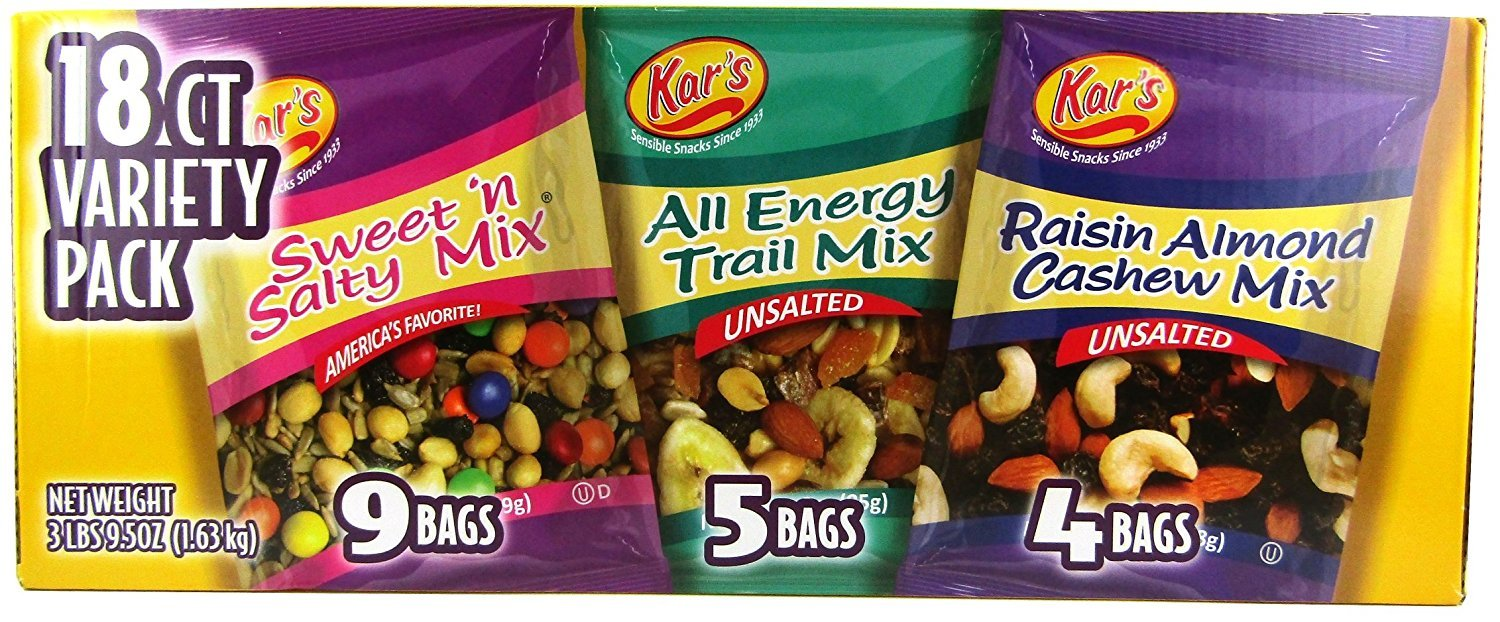 New popularity Kar's Nut Fruit Mix Variety - Financial sales sale Pack 2 18ct of