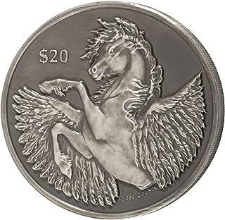 2018 VG 2018 VG High Relief Silver Pegasus Antiqued $ Coin $20 GEM BU Uncertified 20 Dollar GEM BU Uncertified