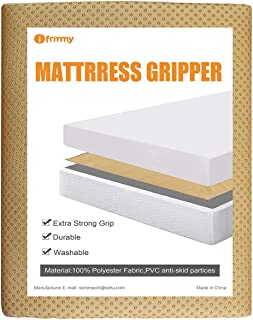 I FRMMY Non Slip Grip Pad for Spring and Memory Foam Mattress, Keeps Mattress in Place for a Great Night's Sleep- Queen Size (57.8 X 76.7 inch)