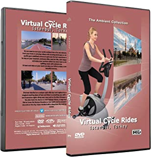 Virtual Cycle Rides DVD - Istanbul, Turkey - for Indoor Cycling, Treadmill and Jogging Workouts