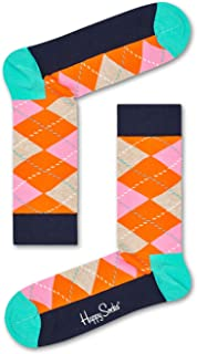 Happy Socks Men's Argyle Sock, Multicoloured, 36-41