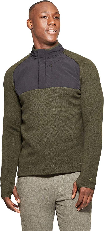 Champion C9 Men's Sweater Knit Fleece Fleece Fleece Quarter Zip