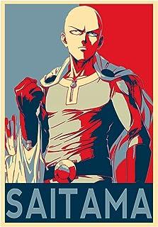 61cm x 91,5cm Close Up Poster One Punch Man Genos /& Saitama