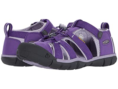 Keen Kids Seacamp II CNX (Little Kid/Big Kid) (Royal Purple/Lavender Gray) Girls Shoes
