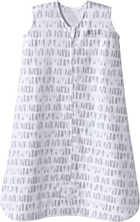 Halo Sleepsack Cotton Wearable Blanket, Squares and Triangles, Grey, X-Large