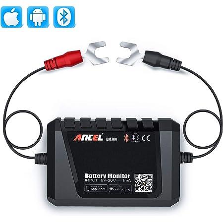 Smart Digital Digitaler Stromz/ähler Souarts Batterie Kapazit/ät Checker,Batteriekapazit/ätstester Modellflugzeugspannungs und Stromanzeige 1