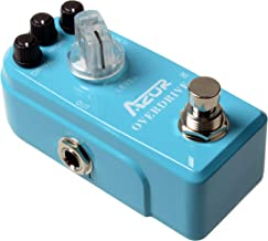 AZOR AP-308 Classical Overdrive Guitar Effects Pedal with True Bypass Blue