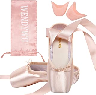 WENDYWU , Chaussures de Danse pour Fille Rose Rose 34 EU