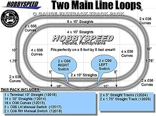 Fastrack 2 MAIN LINE LOOP TRACK PACK 5`x8`