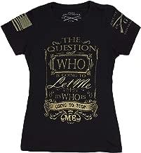 Grunt Style Stop Me Ladies T-Shirt