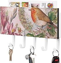 Support mural de trieuse de crochet-courrier à fixation murale, organisateur de porte-clés de courrier, illustration de pr...